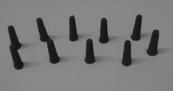 OO Scale Concrete Bollards - Pack of 10